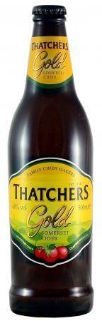 Thatchers Gold Cider 500 ml / 4.5 % UK