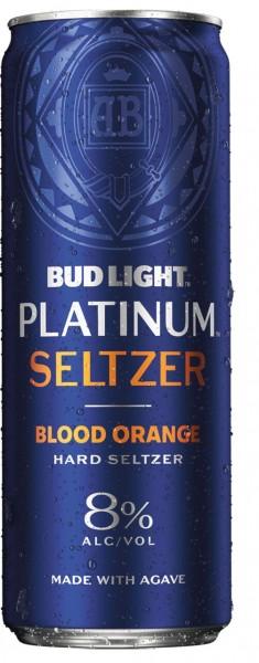Bud Light PLATINUM Hard Seltzer BLOOD ORANGE 355 ml / 8 % USA