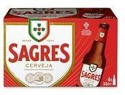 SAGRES Branca (Hell) Bier Kiste 24 x 330 ml / 5.1 % Portugal