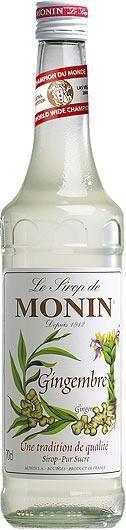 MONIN Premium Gingembre / Ginger Sirup 70 cl Frankreich