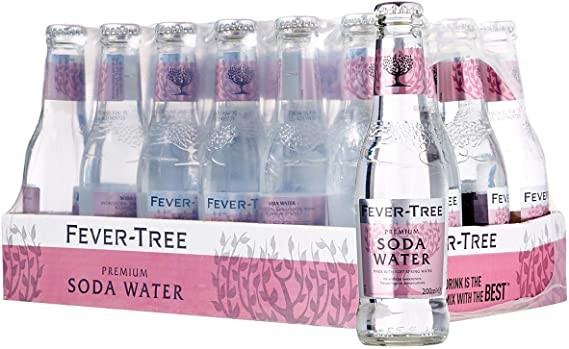 FEVER-TREE Soda Water 24 x 200 ml UK