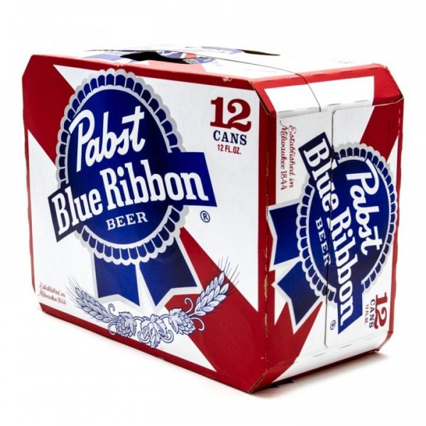 Pabst Blue Ribbon Bier Kiste 24 x 355 ml / 5 % USA