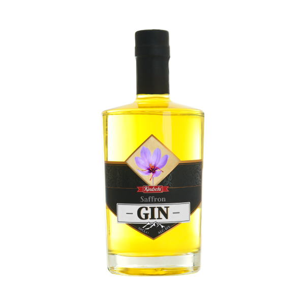 Kindschi SFFRON Gin 50 cl / 41 % Schweiz