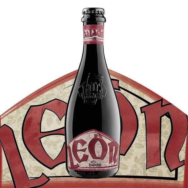 Birra BALADIN LEÖN Belgian Strong Dark Ale Kiste 24 x 330 ml / 8.5 % Italien