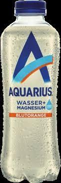 AQUARIUS Blutorange mit Magnesium PET 400 ml Schweiz