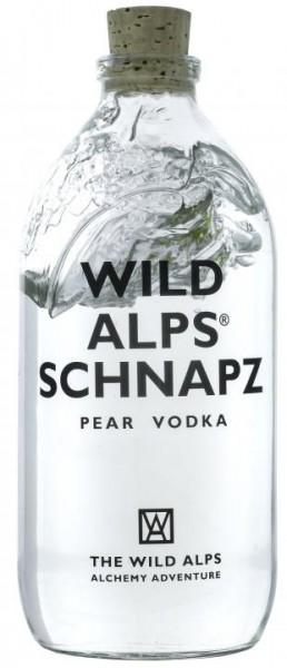 The Wild Alps SCHNAPZ Pear Vodka in Cotton Sachet 50 cl / 40 % Schweiz
