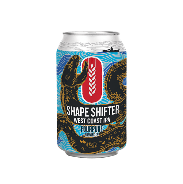 Fourpure SHAPE SHIFTER West Coast IPA 330 ml / 5.9 % UK