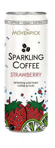 Mövenpick SPARKLING Coffee STRAWBERRY Cold Bew 275 ml Österreich
