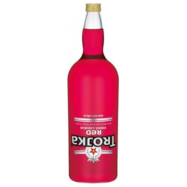 TROJKA RED Vodka Likör Gallone 4.55 Liter / 24 % Schweiz