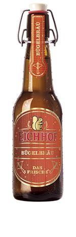 Eichhof BÜGELBRÄU das frische Bier 20 x 400 ml / 4.9 % Schweiz