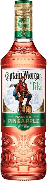 Captain Morgan Tiki MANGO & PINEAPPLE 70 cl / 25 % Karibik