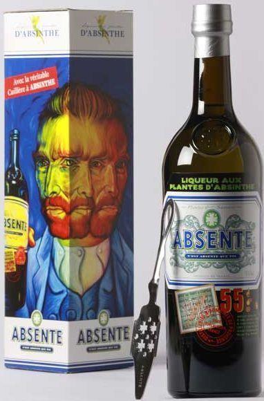 Distillerie et Domains Absente 55 Absinth Box & Löffel 70 cl / 55 % Frankreich