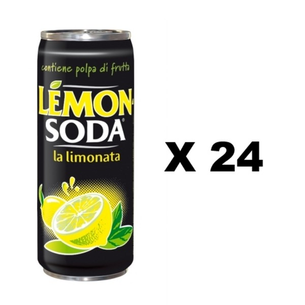 Lemon Soda La Limonata Kiste 24 x 330 ml Italien