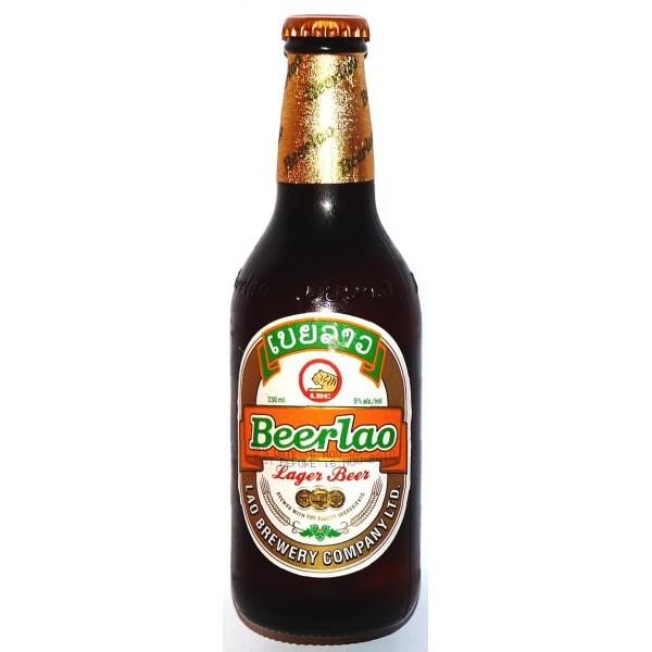 Beerlao Laber Bier Kiste 24 x 330 ml / 5 % Laos