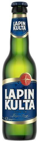 LAPIN KULTA Premium Lager Bier 315 ml / 5.2 % Finnland