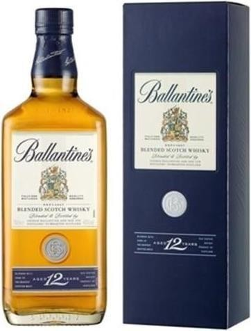 Ballantine's 12 Years Blended Scotch Whisky 70 cl / 40 % Schottland