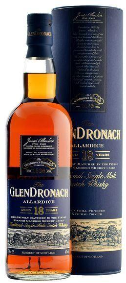 Glendronach Allardice 18 Jahre 70 cl / 46 % Schottland