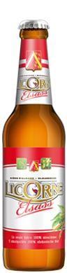 LICORNE Alsace Lager Bier 275 ml / 5.5 % Frankreich