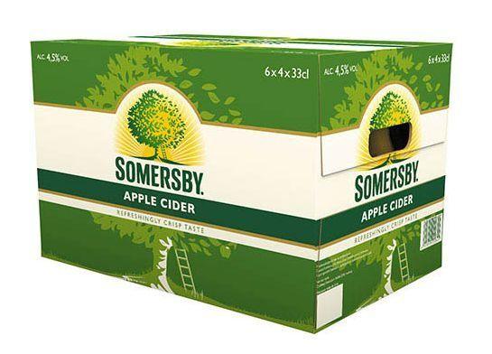 SOMERSBY Cider Flasche Kiste 24 x 330 ml / 4.5 % Schweiz