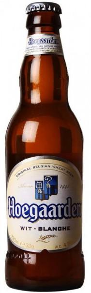 Hoegaarden Wit-Blanche Weiss Bier 330 ml / 4.9 % Belgien