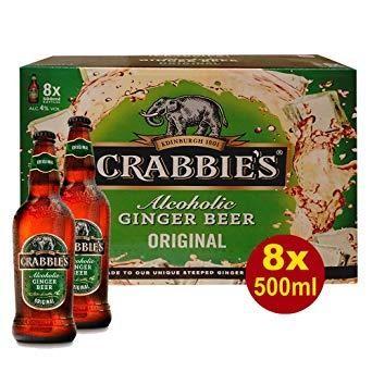 JOHN CRABBIES'S Original Alcoholic Ginger Beer 330 ml / 4 % UK