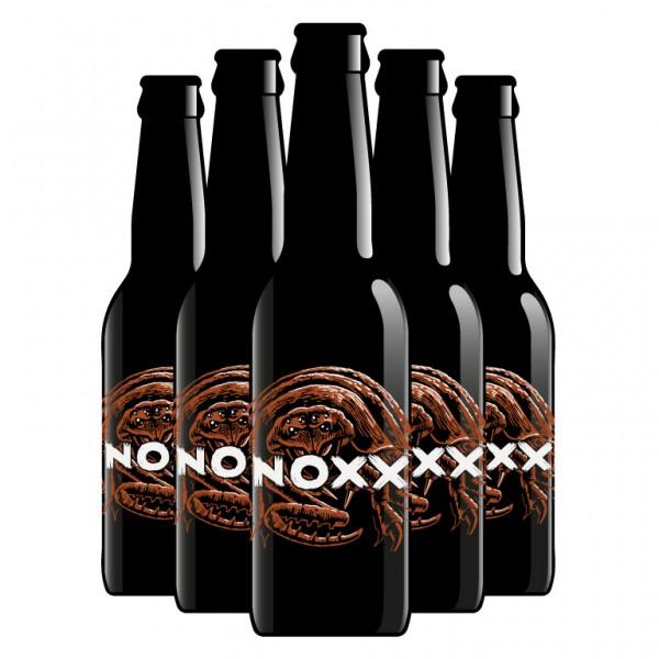 noxx AMBER Bier by Brauerei Eisbock Kisten 24 x 330 ml / 5.3 % Schweiz