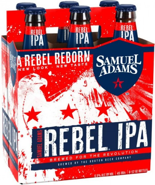 SAMUEL ADAMS Rebel IPA Kiste 24 x 355 ml / 6.5 % USA