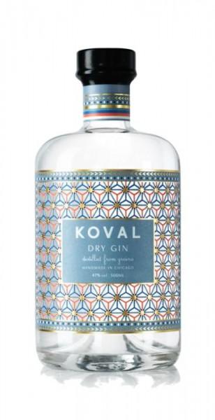 KOVAL Dry Gin 50 cl / 47 % USA