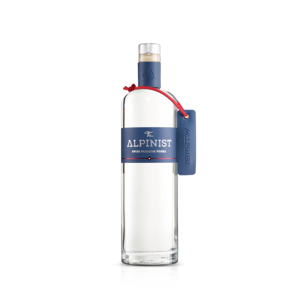 The ALPINIST Premium VODKA 70 cl / 42 % Schweiz