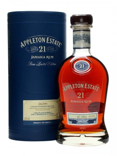Appleton Estate 21 Jahre Jamaica Rum 70 cl / 43 % Jamaica