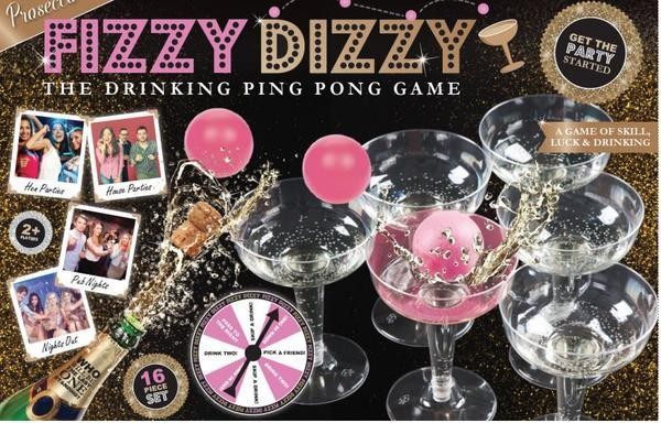 FIZZY DIZZY Prosecco Party Game