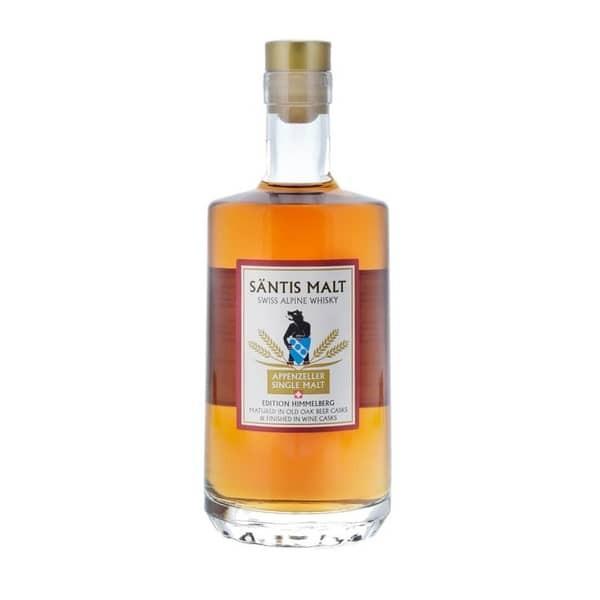 Säntis Malt Appenzeller Single Malt Whisky HIMMELBERG 50 cl / 43 % Schweiz