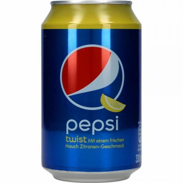 Pepsi TWIST Cola 330 ml UK