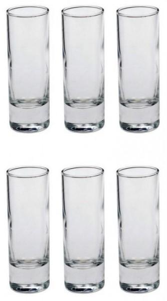 Arcoroc Schnapsglas SCHMAL 6 cl Inhalt