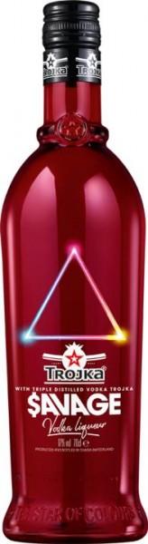 TROJKA SAVAGE Vodka Likör Special Edition 70 cl / 17 % Schweiz