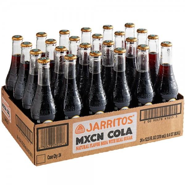 JARRITOS MXCN Cola Kiste 24 x 370 ml Mexiko