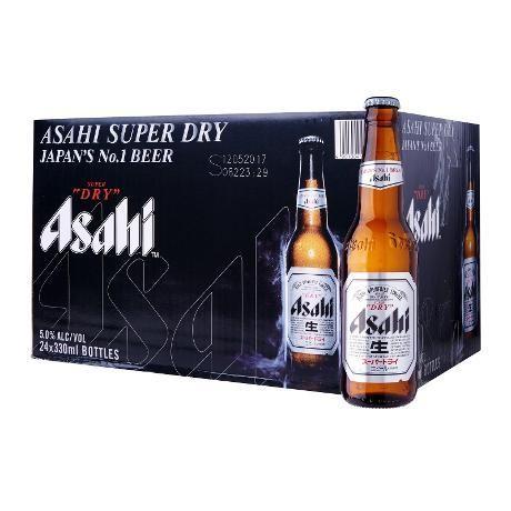 Asahi Super Dry Premium Beer Kiste 24 x 330 ml / 5 % Japan