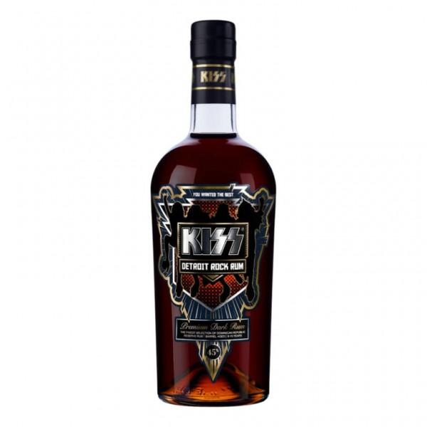 Kiss Detroit Rock Premium Dark Rum 70 cl / 45 % Dominikanische Republik