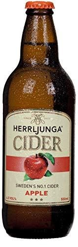 HERRLJUNGA Cider APPLE CIDER Glasflasche 500 ml / 4.5 % Schweden