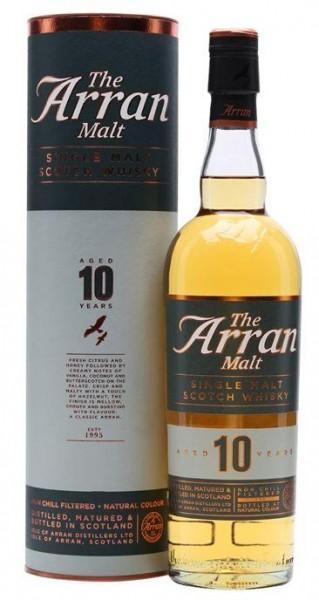 The Arran Single Malt Scotch Whisky 10 Jahre 70 cl / 46 % Schottland