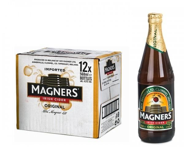 MAGNERS Original Irish Cider BIG Case 12 x 568 ml / 4.5 % Irland