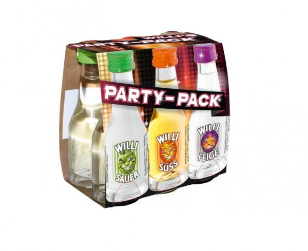 WILLI'S Party-Pack 6 x 2 cl / 18.66 % Schweiz