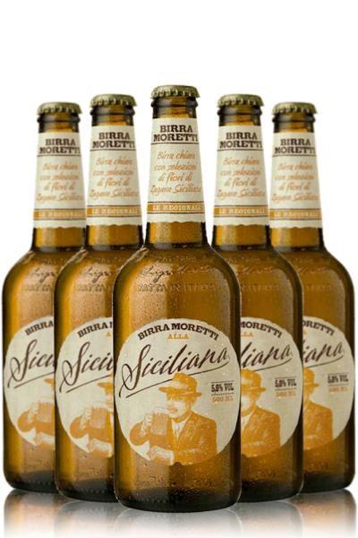 Birra MORETTI Siciliana Kiste 20 x 500 ml / 5.8 % Italien