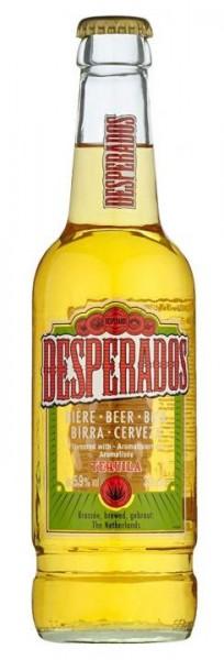DESPERADOS Tequila Flavored Bier 250 ml / 5.9 % Frankreich