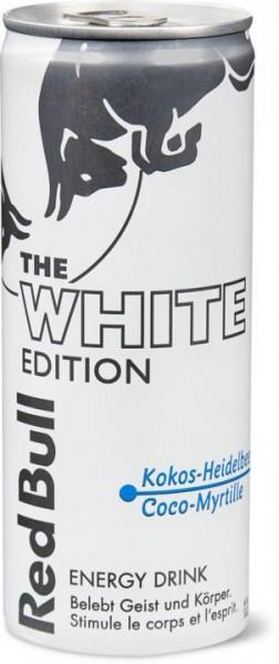 Red Bull WHITE Edition KOKOS - HEIDELBEERE Energy Drink 250 ml Schweiz