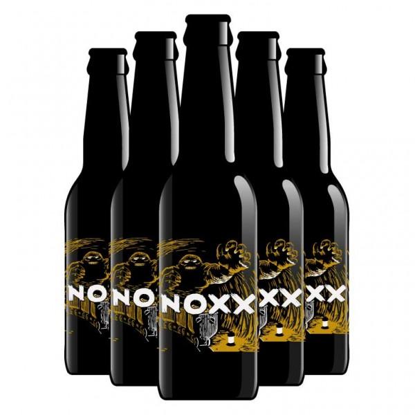 noxx GOLDEN ALE Bier by Brauerei Eisbock Kiste 24 x 330 ml / 5.3 % Schweiz