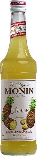 MONIN Premium Ananas / Pineapple Sirup 70 cl Frankreich