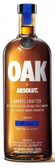 Absolut Vodka OAK 75 cl / 40 % Schweden