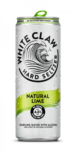 White Claw HARD SELTZER NATURAL LIME 330 ml / 4.5 % EU