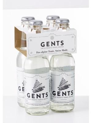 GENTS Swiss Roots Tonic Water Kiste 24 x 200 ml Schweiz